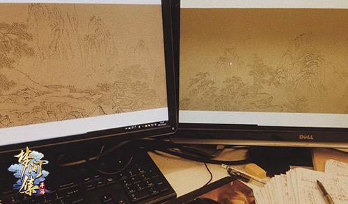 画境背后的故事 《梦间集》新章「琴与棋」创作思路揭秘-图7.jpg