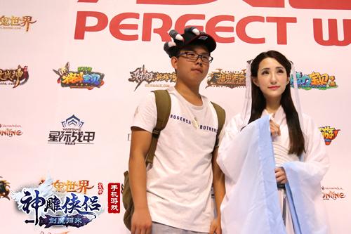 《神雕侠侣》清纯小龙女亮相CJ 玩家坦言愿做尹志平-图4.jpg