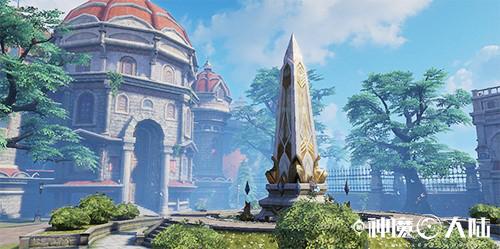 《神魔大陆》手游:定义纯粹魔幻-图4:位于雷辛格的暮光战争纪念碑.jpg