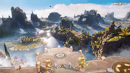 《神魔大陆》手游技术测试开启,魔幻大世界跃屏呈现-图1:跃然屏上的魔幻大世界.jpg