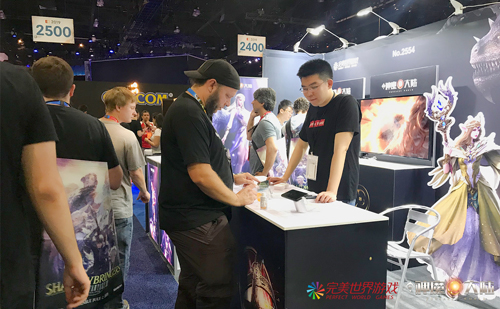 《神魔大陆》手游亮相E3,中国制造的魔幻大世界-1.jpg