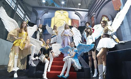 《神魔大陆》手游参展CJ,外模天团与最美女神首亮相-图1.jpg