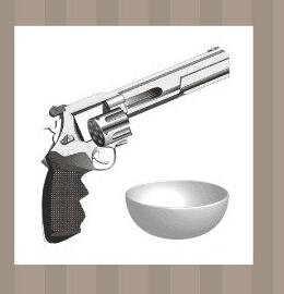 枪和碗猜成语_看图猜成语