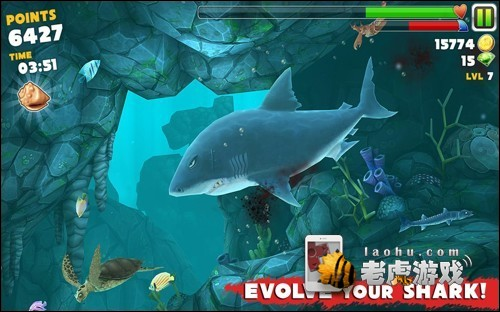 饥饿的鲨鱼进化游戏图片